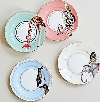 Yvonne Ellen Carnival Animal Side Plates
