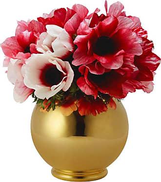 Aerin Marion Gilded Vase - Round
