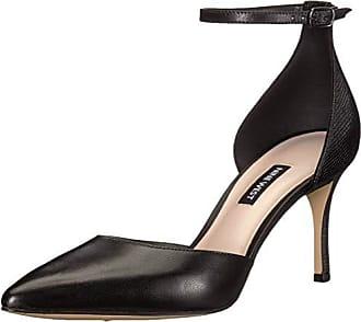 18d3ae959db Nine West Womens Marisa Leather Pump Black Multi 9.5 M US