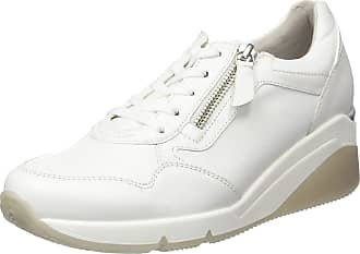 Gabor Womens Comfort Basic Low-Top Sneakers, White (Weiss 50), 7.5 UK