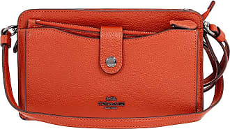 Coach Convertible Pop-Up Ladies Small Two tone Leather Messenger Bag 53529 DKCLI