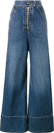 Ellery Calça jeans pantalona - Azul