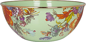 MacKenzie-Childs Flower Market Everyday Bowl - Green - Large