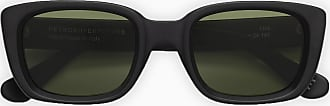 Retro Superfuture Black Matte Lira sunglasses