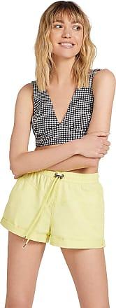 Volcom Coco Twill Short - Women Short - Yellow