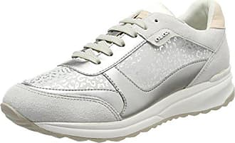 Geox Damen D Giyo B Sneaker, Elfenbein (Off White), 36 EU