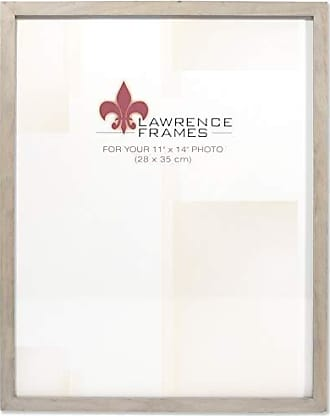 Lawrence Frames 11x14 Gray Wood Gallery Collection Picture Frame
