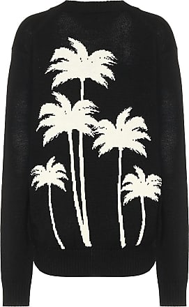 Palm Angels Logo wool sweater