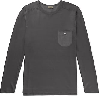 Zimmerli Cotton And Modal-blend Pyjama T-shirt - Gray