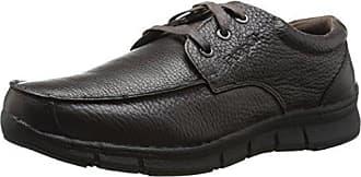 Propét Propet Mens Benson Casual Shoe, Brown, 12 3E US