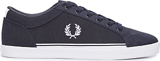 Fred Perry TÊNIS MASCULINO BASELINE PIQUE TRICOT - AZUL