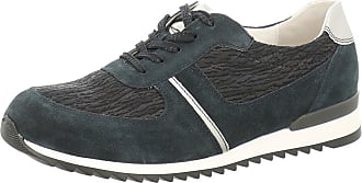 Waldläufer Sprint Womens Casual Sports Trainers 4 Navy Mix