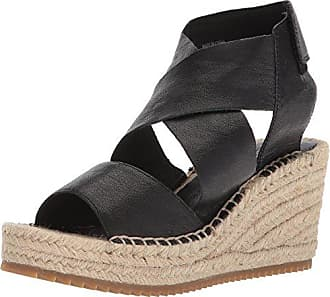 Eileen Fisher Womens Willow-tl Dress Sandal, Black, 5.5 M US