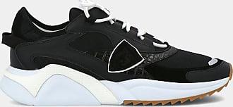 Philippe Model Sneakers - Eze Mondial Croco - Noir