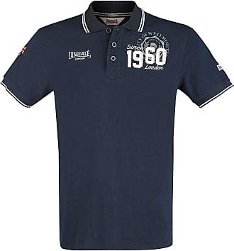 Lonsdale Mens Fakenham Polo Shirt, Dark Navy, XXL