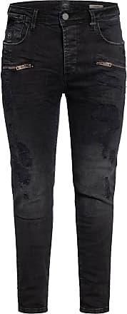 ER Elias Rumelis Jeans AYDEN Extra Slim Fit - CLOUD BLACK DESTROYED