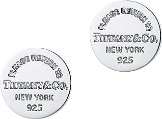 Tiffany & Co. Return to Tiffany runde Ohrstecker in Sterlingsilber