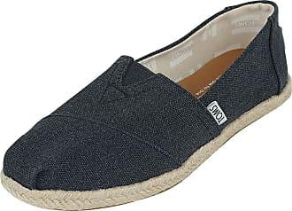 Toms Black Alpargata Espandrille - Sneaker - schwarz