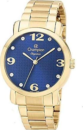 Champion Relógio Champion Feminino Elegance Dourado CN26279F