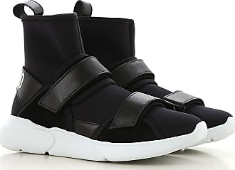 51ec398c35bcb Moschino Sneaker Femme Pas cher en Soldes, Noir, Néoprène, ...