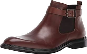 Kenneth Cole Mens Donnie Chelsea Boot, Cognac, 10.5 M US