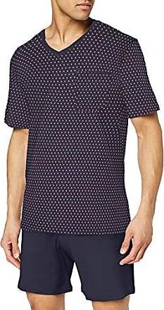 Seidensticker Herren Anzug Kurz Zweiteiliger Schlafanzug