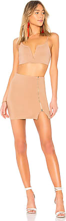 Superdown Emerie V Wire Zip Set in Tan