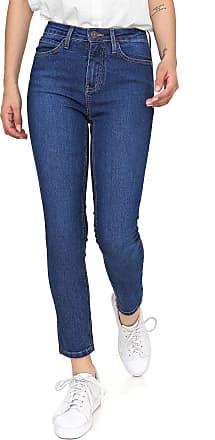 Calvin Klein Jeans Calça Jeans Calvin Klein Jeans Slim Cropped Pespontos Azul