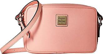 Dooney & Bourke Saffiano Camera Crossbody (Pale Pink/Pale Pink Trim) Cross Body Handbags