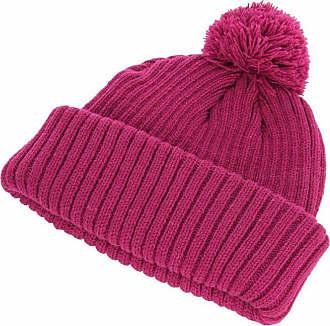 Hawkins Chunky Knit Beanie Hat in Raspberry, Size: Medium