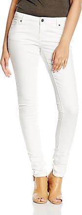 Vero Moda Womens Five Super Slim Jeans, Bright White, W32/L32