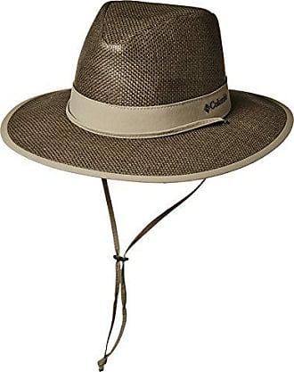 Columbia Mens Forest Finder Sun Hat, sage, tusk, L/XL