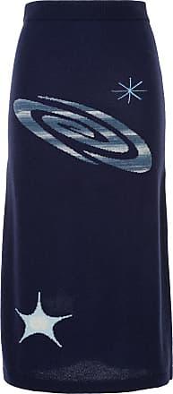 Onefifteen Saia de cashmere - Azul