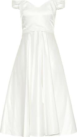 Marchesa Exclusive to Mytheresa - Satin midi dress