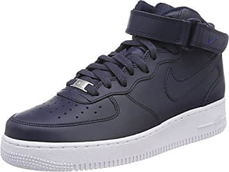 finest selection c1297 ca450 Nike Air Force 1 Mid 07, Zapatillas Altas para Hombre, Azul Obsidian-White