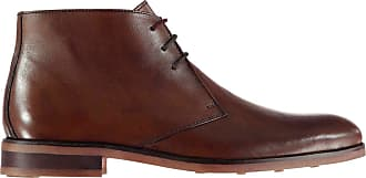Firetrap Mens Blackseal Argyll Formal Boots Chocolate UK 10 (44)