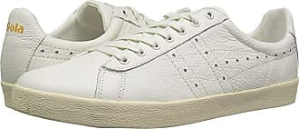 d63e5ac58acac1 Gola Tourist Leather (Off-White/Off-White) Mens Shoes