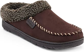 0d7db136d23 Dearfoams Mens Memory Foam Slipper Brown Size  Large