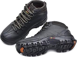 Di Lopes Shoes Tênis Adventure em Couro (43, Preto)
