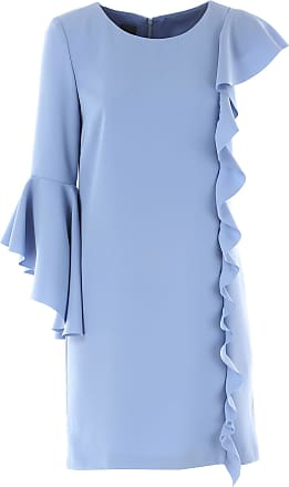 Abendkleid knielang hellblau