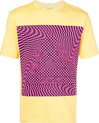 Palace Camiseta com estampa gráfica - Amarelo