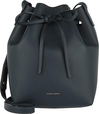 b6322abde1764 Mansur Gavriel Mini Bucket Bag Blue Beuteltasche blau