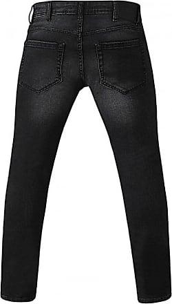 Duke London D555 Benson Tapered Fit Stretch Jeans|Grey|48 Waist 30 Leg