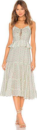 Hemant & Nandita Sana Linen Dress in Mint