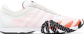 Yohji Yamamoto Rehito dual-layer sneakers - White