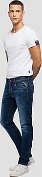 Replay Jeans Straight Fit Hyperflex Laserblast Grover
