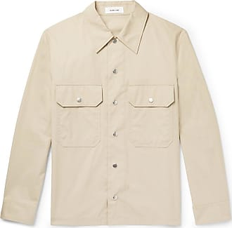 Helmut Lang Cotton-canvas Overshirt - Taupe
