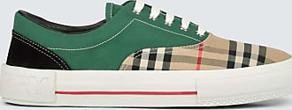 Burberry Vintage check colorblocked sneakers