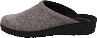 Rohde 4320 Roma Womens Slippers, Size:6 UK, Colour:Grey