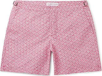 5d0743528b Orlebar Brown Bulldog Mid-length Printed Swim Shorts - Pink